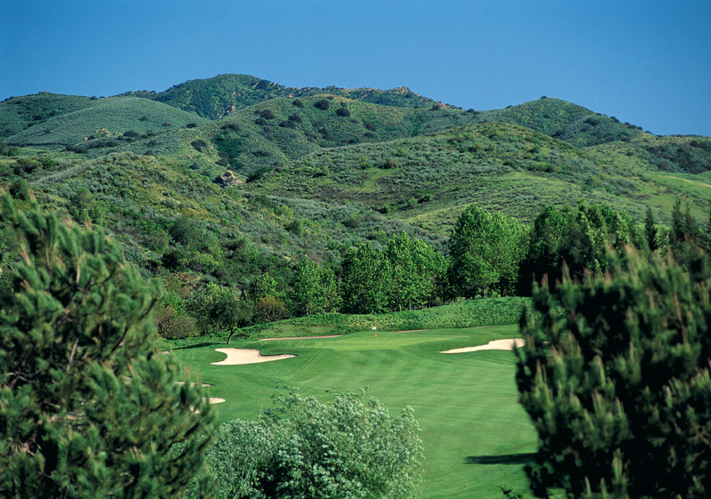 Hole 17 - CA Golf Courses In Simi Valley Wood Ranch Country Club