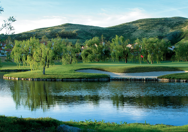 hole 3 - CA Golf Courses In Simi Valley Wood Ranch Country Club