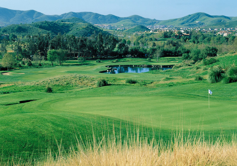 Golf at Wood Ranch Golf Club. hole 7 - CA Golf Courses In Simi Valley Wood Ranch Country Club